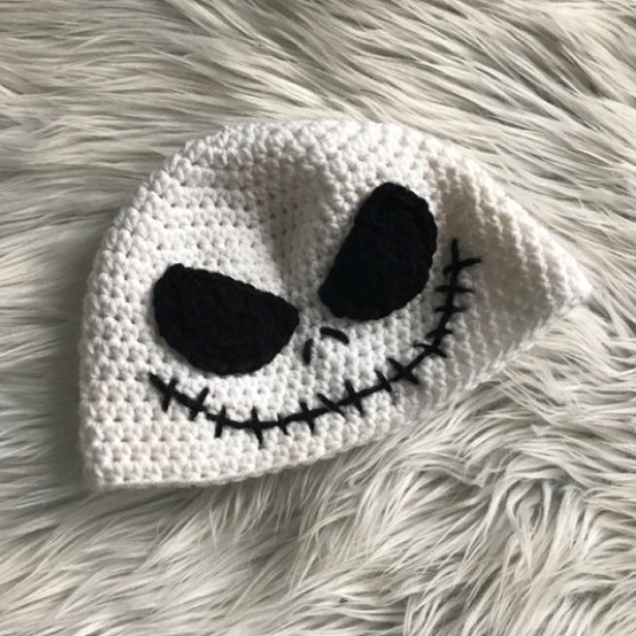 Accessories Infant Jack Skellington Crochet Hat Poshmark